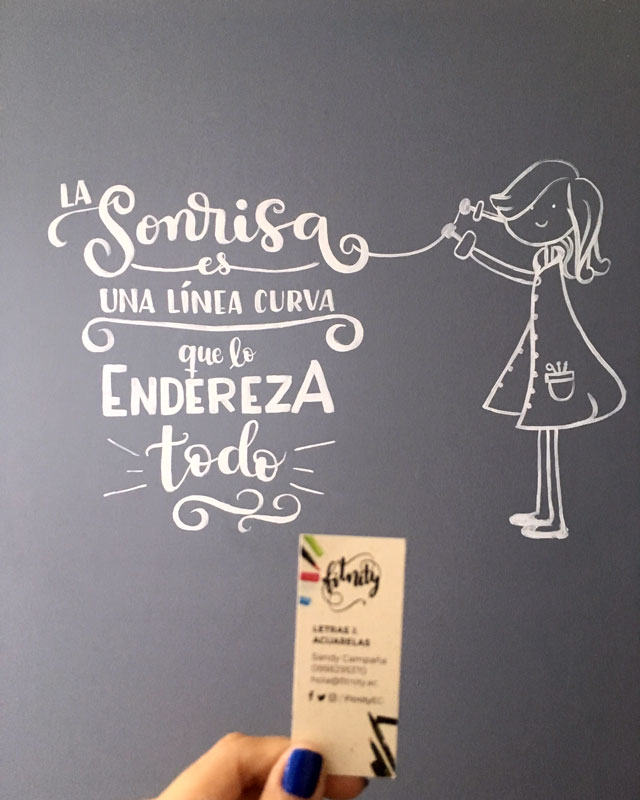 wall lettering consultorio dental