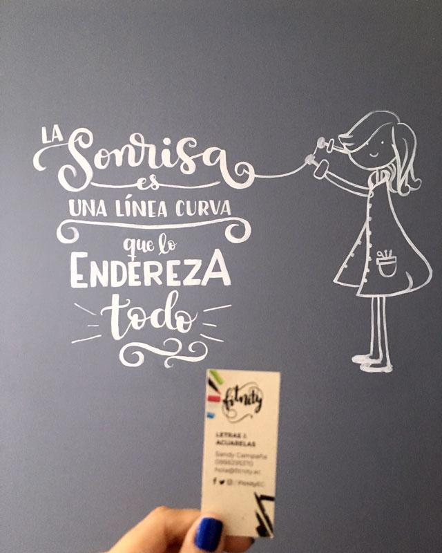 wall lettering consultorio dental